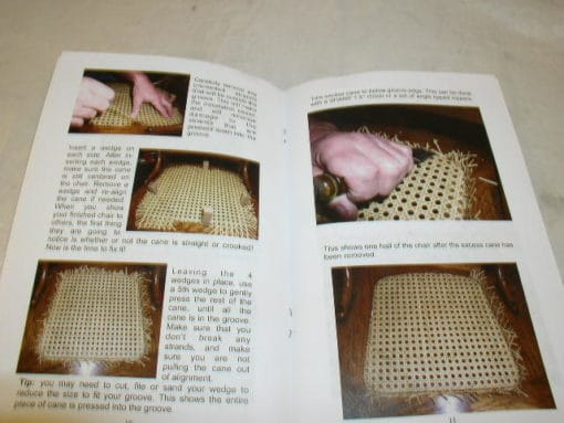 Complete Chair Caning Kit, Pressed Cane