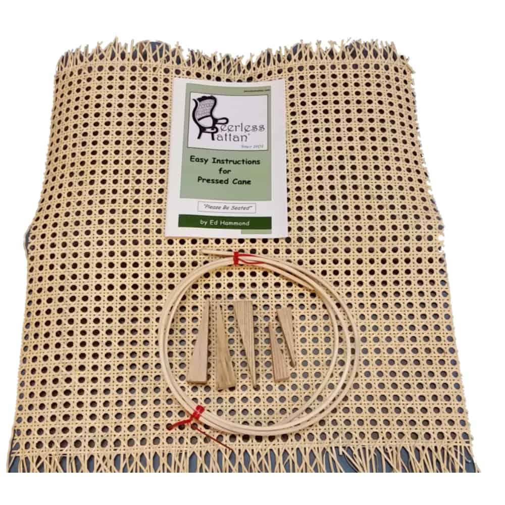 complete chair caning kit pressed cane