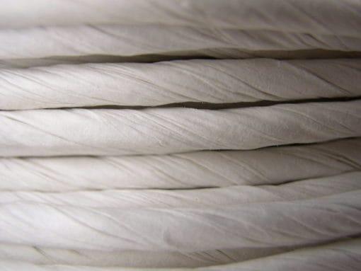 Fibre Rush WHITE 2 lb Coil 6/32