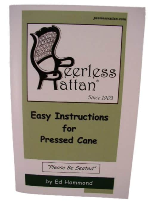 Pressed Cane Instruction Booklet